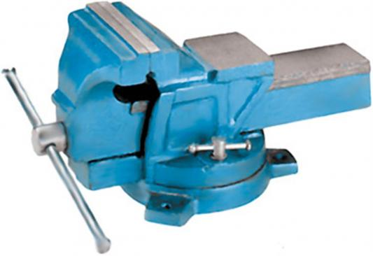 Тиски FIT 59710 настольные, поворотные 100 мм ( 5 кг.) станочные поворотные усиленные тиски fit it 59727
