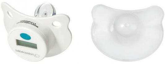 Пустышка-термометр Bebe Confort 0 - 36 месяцев аспиратор bebe confort с силиконовым наконечником 0 60 месяцев