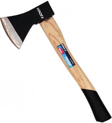Топор KROFT 202065 800 гр., ручка из твердых пород древесины вилка посадочная kroft металл деревянная ручка