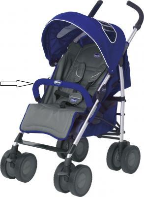 Купить Бампер к коляске Chicco MultiWay Evo Blue, Бамперы