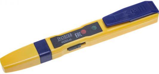 Тестер СВЕТОЗАР SV-45203-48 напряжения ms-48s звонок электрический с кнопкой светозар аккорд 58036