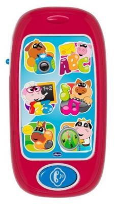 Интерактивная игрушка Chicco Говорящий смартфон ABC от 6 месяцев смартфон