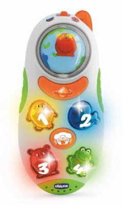 Интерактивная игрушка Chicco Говорящий телефон от 6 месяцев chicco игрушка развивающая говорящий телефон рус англ