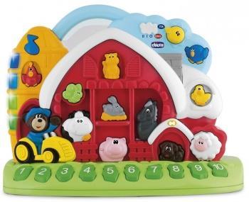 Интерактивная игрушка Chicco Говорящая ферма от 12 месяцев