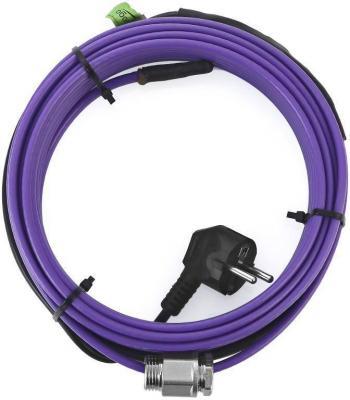 Греющий кабель ОБОГРЕВ ЛЮКС в10 саморегулирующийся внутрь трубы с сальником 10м кабель греющий саморегулирующийся гдеморозанет внутрь трубы с сальником 2 метра