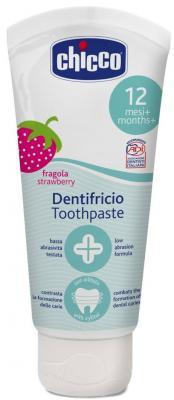 Зубная паста Chicco со вкусом клубники, 12+, 50 мл, 320617010