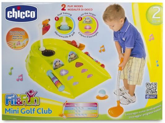 Игровой набор Chicco Мини Гольф Клуб (свет, звук) chicco мини гольф клуб линия fit&fat chicco