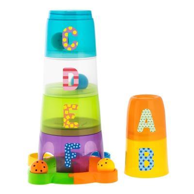 Игрушка Chicco Занимательная пирамидка 6+ краснокамская игрушка развивающая пирамидка кольцевая
