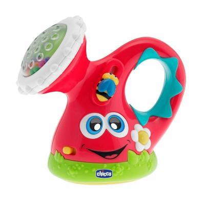 Купить Интерактивная игрушка Chicco Лейка от 6 месяцев, разноцветный, пластик, для девочки, Игрушки со звуком