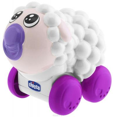 Интерактивная игрушка Chicco Go Go Music Барашек от 6 месяцев 6995-2 музыкальная игрушка chicco go go music утёнок