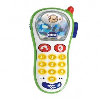 Интерактивная игрушка Chicco Мобильный телефон от 6 месяцев белый chicco игрушка фото телефон музыкальный с картинками