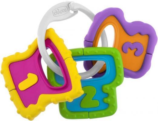 Купить Игрушка-погремушка Chicco Ключики , разноцветный, унисекс, Погремушки и прорезыватели