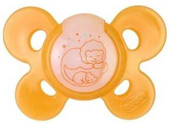 Пустышка Chicco Physio Comfort Lum от 12 месяцев силикон желтый 310210198 пустышка ортодонтическая chicco physio soft от 12 месяцев латекс желтый 310410137