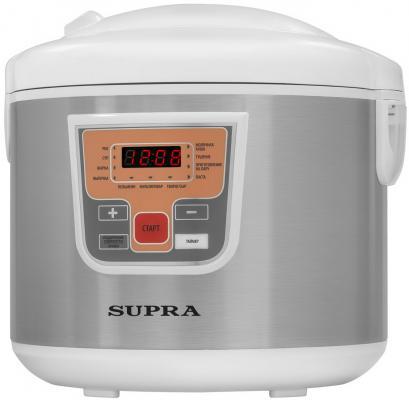 Мультиварка Supra MCS-5110 5л 900Вт серебристый мультиварка supra mcs 4704 800вт белый