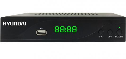Фото - Ресивер DVB-C Hyundai H-DVB860 черный c h parry england