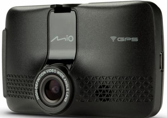 Видеорегистратор Mio MiVue 733 черный 1080x1920 1080p 130гр. GPS видеорегистратор neoline g tech x52 черный 1080x1920 1080p 130гр