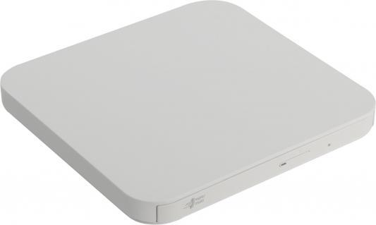 Внешний привод DVD±RW LG GP90NW70 USB 2.0 белый Retail внешний привод dvd±rw lite on ebau108 usb 2 0 белый retail