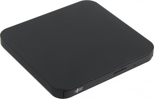 Привод DVD-RW LG GP90NB70 черный USB ultra slim внешний RTL ultra slim portable usb 2 0 dvd rw external optical drive red