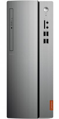 ПК Lenovo IdeaCentre 310-15IAP MT P J4205 (1.5)/4Gb/1Tb 7.2k/HDG505/Free DOS/GbitEth/черный/серебристый