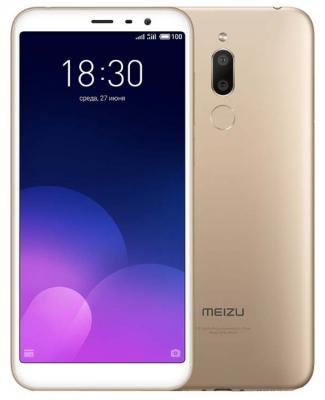 Смартфон Meizu M6T 16 Гб золотистый смартфон