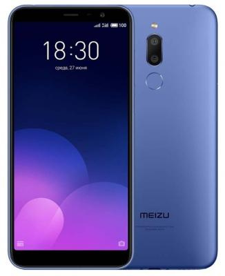 Смартфон Meizu M6T 16 Гб синий смартфон meizu m6t 3 32gb gold