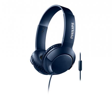 Наушники Philips SHL3075BL/00 синий наушники philips shl3075bl синие с микрофоном