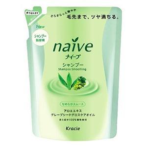 Шампунь Kracie Naive для волос с экстрактом Алоэ запасной блок 400 мл запаснойблокдляунитазаморская