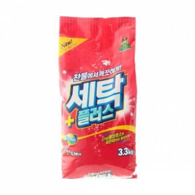Стиральный порошок Sandokkaebi Se-Plus 3.3кг бытовая химия sandokkaebi se plus стиральный порошок мягкая упаковка 3 3 кг