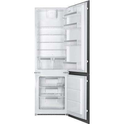 Встраиваемые холодильники SMEG/ 177.2 х 54 х 54.9 см, 202х75л, встраиваемый комбинированный холодильник заслуженный коллектив россии академический симфонический оркестр филармонии в синайский