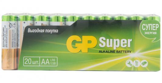 Батарея GP 15A-2CRVS20 батарейки gp 15a 2crvs20 aa 20шт