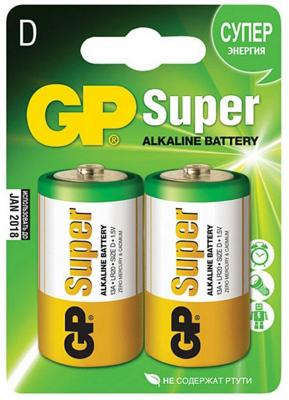 Батарея GP 13A-2CR2 20/160 батарейки gp gp 13a extra 2cr2