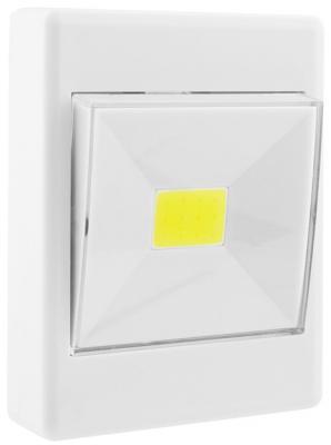 Светильник СТАРТ PL-1LED-COB белый Push-Light free shipping 4pcs lot rgb cob 1 60w cob led par light dj dmx stage lighting