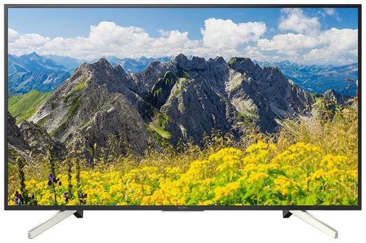Телевизор SONY KD-55XF7596 черный sony жк телевизор sony kd 55xf7596 br2