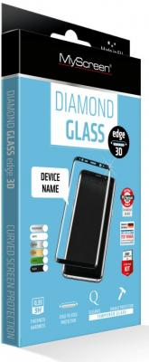 Пленка защитная Lamel 3D закаленное стекло MyScreen 3D DIAMOND Glass EA Kit Black Samsung Galaxy S9