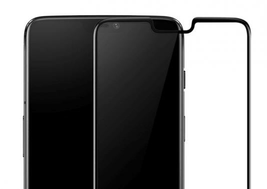 Защитное стекло OnePlus OnePlus 6 3D Tempered Glass Screen Protector (Black) 5431100052 case for oneplus 6 brushed texture voltage type cover
