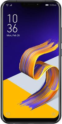 Смартфон ASUS ZenFone 5Z ZS620KL 64 Гб темно-синий (90AZ01R1-M00490) аксессуар защитное стекло для asus zenfone 5z zs620kl onext black frame 41770