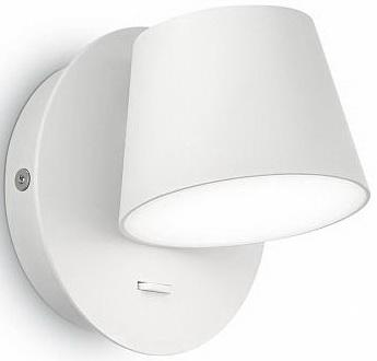 Бра Ideal Lux Gim AP1 Bianco ideal lux настенный спот ideal lux zenith ap1 bianco