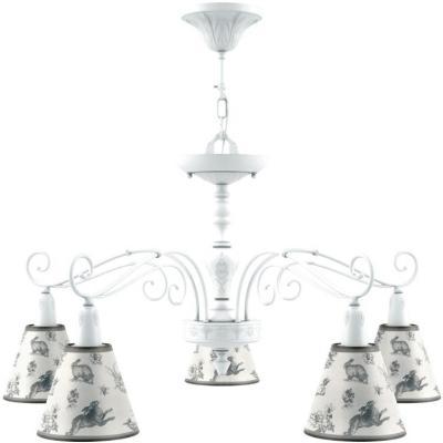 Подвесная люстра Lamp4you Provence E4-05-WM-LMP-O-8 настенное бра lamp4you provence e 01 wm lmp o 29
