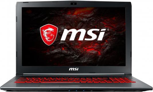 Ноутбук MSI GV62VR 7RF-1288XRU (9S7-16JBD2-1288) msi ge63vr 7rf 206xru raider black