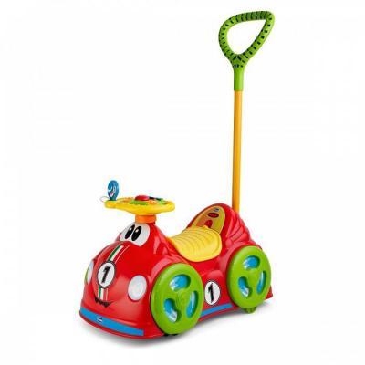 Купить Каталка-машинка Chicco All Around Delux красный от 18 месяцев пластик, унисекс, Каталки-транспорт
