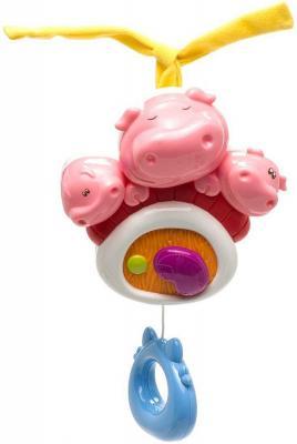 Интерактивная игрушка Chicco Три поросенка с рождения интерактивная игрушка chicco музыкальная лейка от 6 месяцев разноцветный 07700