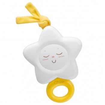 Интерактивная игрушка Chicco Звездочка с рождения белый интерактивная игрушка жирафики звездочка с рождения