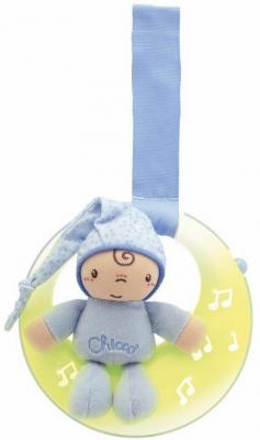 Интерактивная игрушка Chicco Луна, спокойной ночи с рождения голубой интерактивная игрушка chicco музыкальная лейка от 6 месяцев разноцветный 07700