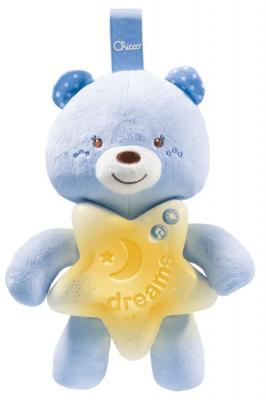 Интерактивная игрушка Chicco Медвежонок с рождения голубой chicco медвежонок doudou с одеяльцем