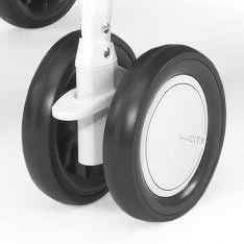 Сдвоенное колесо для коляски Chicco Simplicity (белое) chicco сдвоенное для коляски multiway evo