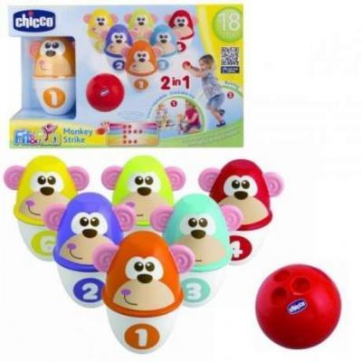 Купить Игровой набор Chicco MonKey Strike 7 предметов, унисекс, Игровые наборы для мальчиков