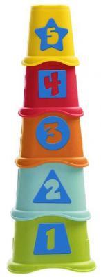 Купить Пирамидка Chicco Stacking Cups, пластик, Пирамидки для малышей
