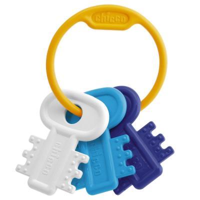 Развивающая игрушка Chicco Ключи на кольце Blue chicco развивающая игрушка собака детектив