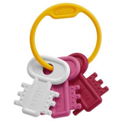 Развивающая игрушка Chicco Ключи на кольце Pink chicco развивающая игрушка собака детектив