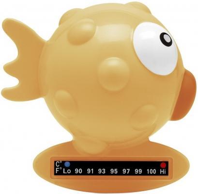 """Термометр для ванны Chicco Baby Moments """"Рыба-шар"""", желтый, 320719043"""